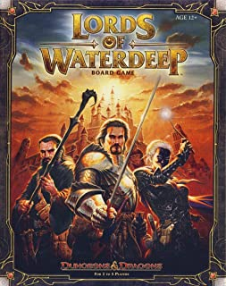 Wizards of The Coast Lords of Waterdeep:地下城与龙桌面游戏
