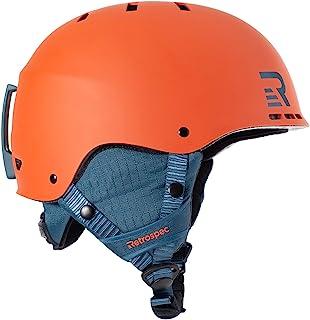 Retrospec H2 滑雪和单板滑雪头盔,可转换为自行车/滑冰