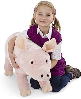 Melissa & Doug 巨型猪 - 逼真填充动物(超过 2 英尺)