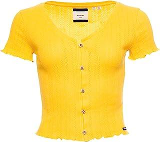 Superdry 极度干燥 女式夏季 Pointelle T 恤