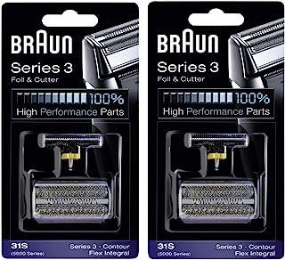 Braun 博朗系列 3 Combi 31S 铝箔切刀替换包 - 2 包