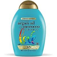 OGX Argan 摩洛哥坚果洗发水,适用于干发,无硫酸盐表面活性剂,385毫升,13盎司(约368.54克)