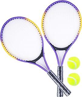 Bluesky 蓝色网球拍和2个球 041122Z - 25厘米 - 适合3岁以上儿童