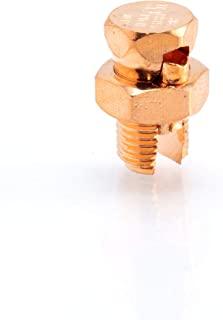尺寸 #4 接地分离螺栓 - *强度分离螺栓连接器 4 号适用于铜导体 - 美国制造 - UL 认证 - 适用于天线、卫星、DIRECTV、CATV 等 - 4 件装