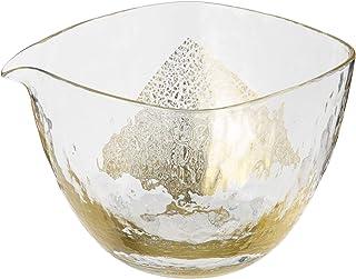 TOYO SASAKI GLASS 東洋佐々木ガラス 清酒瓶 片口 江戸硝子 八千代窑 金色 265ml 63705