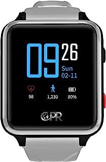 CPR Guardian II 个人闹钟,带紧急辅助按钮,GPS 定位跟踪器,双向通话。下一代保护。女王*得主。(灰色)