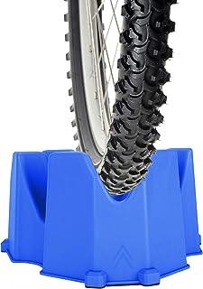 MINZNAMZ 自行车车轮立架 - 3 种不同高度创建自行车前轮立架稳定自行车涡轮支撑适用于室内自行车训练器固定自行车