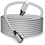 16FT 链路电缆,适用于 Oculus Quest 2,USB 3.2 Type C 到 Type C 电缆,高速数据…