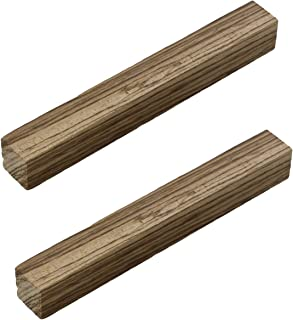 Deadwood Crafted Tools DCT 木制车削毯,1.91 cm x 1.91 cm x 15.24 cm - 旋转木坯,异域风情木毯,木质笔坯料 斑马木 2组 5494_2PACK