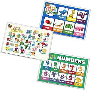 一次性 placemats 来自婴儿 PHD–table TOP 垫童装儿童和 BABIES–超粘性胶–60placemats–生态环保–3NEAT 教育设计–STICKS TO 工作台