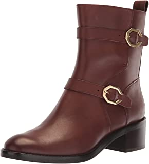 Cole Haan 女士 Leela Grand Moto 短靴 45 毫米機車靴
