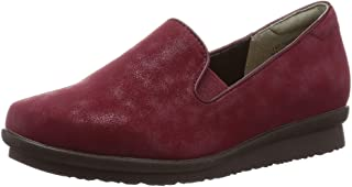 Tean 懒人鞋 TN4010_WIN_22.5 女士 酒红色 22.5 厘米 3_e