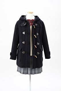 [Olive Deo Rouette School ] 双面粗呢大衣 带拉链 1J90009 女款