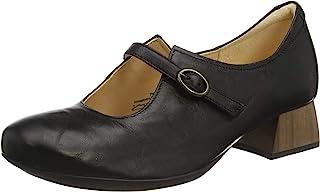 Think! Delicia_3-000148 女士可持续更换鞋垫系带高跟鞋