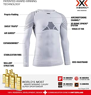 X-BIONIC 女士Invent 4.0圆领长袖T恤