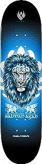 Powell Peralta 滑板甲板 Agah Lion 飞行蓝 22.2 厘米 x 83.7 厘米