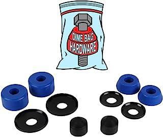 滑板卡车重建套件衬套垫圈 适用于 2 辆卡车(蓝色)