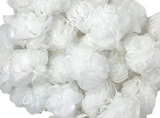 Loofah Lord 24 白色沐浴或淋浴海绵丝瓜网批发批量
