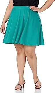 Star Vixen 女式加大码短款溜冰裙