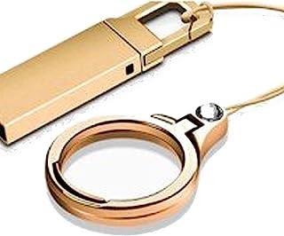 DDL 挂绳式 环扣 时尚 尖头 合金 金属加工 (可变为智能手机支架的2in1规格) 金色 -