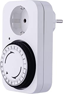 EMOS P5522 机械定时器 Schuko 可编程室内插座 带 96 个循环,儿童*装置