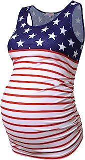 孕妇背心女式褶饰无袖基本款上衣孕妇衬衫背心孕妇 T 恤