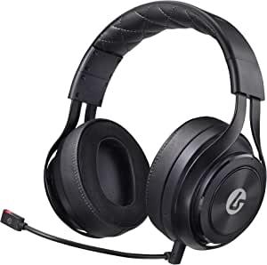 LucidSound LS35X 无线环绕声游戏耳机 - Xbox One 官方* - 适用于 PS4、PC、Nintendo Switch、Mac、iOS 和 Android