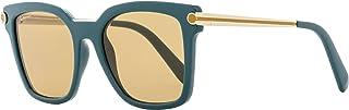 Salvatore Ferragamo SF832S 321 Petrol Modified Rectangle Sunglasses