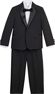 Nautica 诺帝卡男童燕尾服套装,带夹克、裤子、衬衫和蝴蝶结