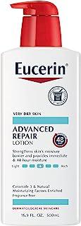 Eucerin 优色林 先进的修复乳液,无香料,16.9液体盎司/500ml