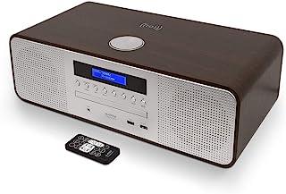 Hi-Fi 迷你立体声系统 CD 播放机,带DAB/FM 收音机(蓝牙,MP3 播放),无线充电,USB 充电器,遥控器