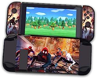 Spider Hero Man 兼容开关壳,可扩展保护套,适用于 Nintendo Switch 控制台和 Joy-Con 控制器