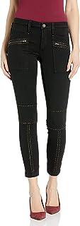 Joie 女式铆钉紧身裤,带拉链