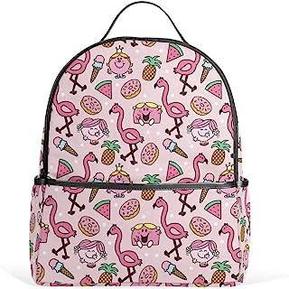 书包时尚书包,适合男孩女孩,轻质休闲旅行包大容量背包 多种颜色 均码