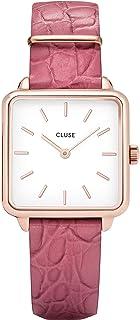 CLUSE 女士指针式石英手表带皮革表带 CL60020