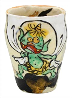 Utsuwaroan 酒杯 风神 70毫升 美浓烧 和田一人