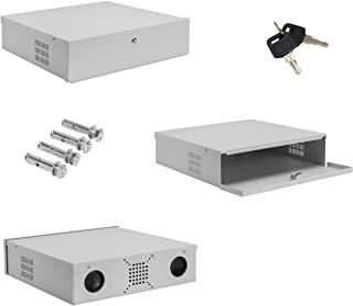 Burg-Wachter 18 英寸可锁定 DVR NVR 闭路电视保险箱