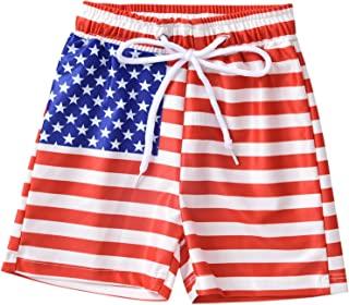 ASTRILL 婴幼儿-男孩-游泳短裤沙滩裤热带风格泳衣