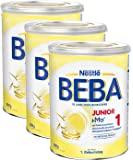 Nestlé 雀巢 BEBA JUNIOR 1 幼儿奶粉 适用于1岁以上幼儿,3罐装(3 x 800g)