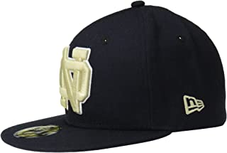 New ERA NCAA 大学基本59FIFTY 棒球帽 海蓝色 6 7/8