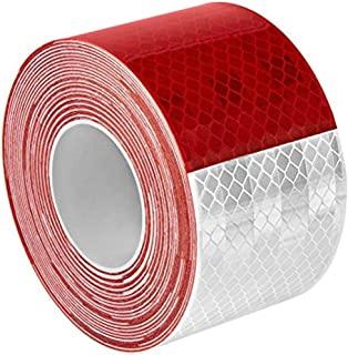 3M 983-326 5.08 厘米 X 76.2 厘米 963-326 棱镜透色标记,5.08 厘米宽,76.20 厘米长,红色/白色
