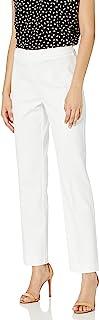 Anne Klein 女士棉质凸纹侧拉链长裤