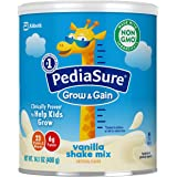 Similac 雅培 PediaSure Grow & Gain 无麸质儿童营养奶粉,含蛋白质,DHA,抗氧化剂,维生素…