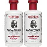Thayers 玫瑰花瓣金缕梅芦荟汁 - 12 盎司 12 Oz (Pack of 2)