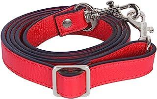 VanEnjoy 可调节全粒面皮革斜挎带替换件 - 1.78 厘米宽,63.5 厘米长