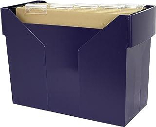 Metzger & Mendle 文件盒 gefüllt, nachtblau