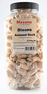 Maxons Dixons Aniseed Rock Jar 2.27 Kg