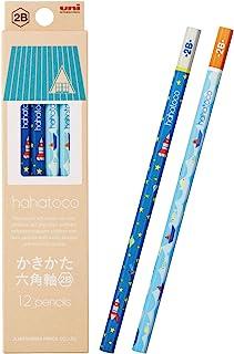 三菱鉛筆 鉛筆鉛筆 HAATO HT01 2B 宇宙&海 1打 K56112B