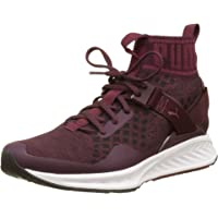 PUMA 女式 IGNITE evoknit WN ' s 跑鞋,白色,3.5英国