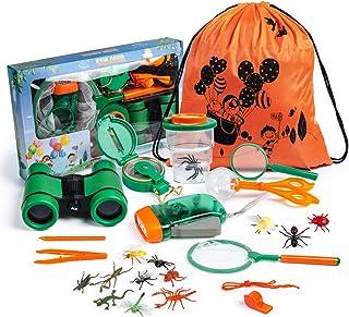Bayetyak 户外探险家套装儿童双筒望远镜玩具套装男孩女孩礼品